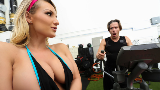 Cali Carter in Calis Special Workout