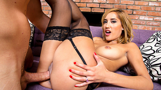 Chloe Amour will do anything for her husband, even if it means getting it on with his boss...
