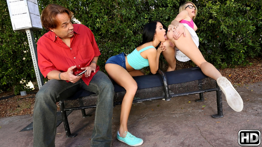 Blake Eden in Bus Stop Lust
