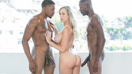 Brandi Love in Sexy Mom Takes 2 young BBCs