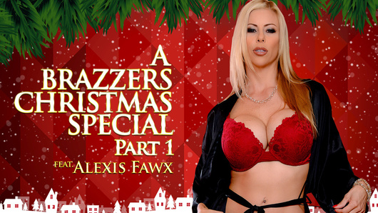 Alexis Fawx in A Brazzers Christmas Special: Part 1