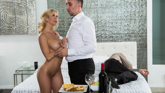 Alexis Fawx in While My Husband Was Passed Out