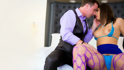 Innocence is bliss, until temptation sneaks into play. Abella Danger's desire to explore her first time with an older man lands her in an exchange of a lifetime, virgin territory. Any man would pay their dues to have their cake and eat it too. Now, Abella is left to decide whether she's mature enough to handle a game of grab ass.