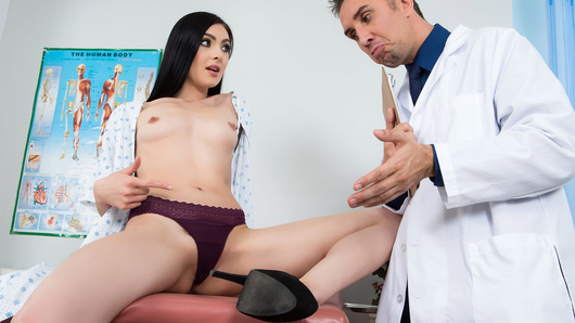 As a medical intern at the hospital, you're in for a treat as patient Marley Brinx has been admitted with a wet pussy. Ms. Brinx is nervous about the fact that there's potentially no cure, but luckily for us Dr. Keiran Lee has the right medicine, the power of cunnilingus! Will licking the pussy be enough, or does Marley need to suck and fuck some dick before she's right as rain?