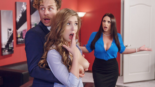 Anyone who has watched enough adult entertainment knows full well that porn logic is a special kind of logic. This April Fools, we explore the boundaries of that logic in this special scene starring Angela White, Lena Paul and Michael Vegas.