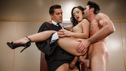 Kristina Rose in Judge Jury And Double Penetrator