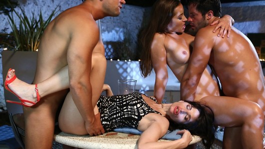 Ava Courcelles in Sex party with Ava Courcelles and Dani Daniels