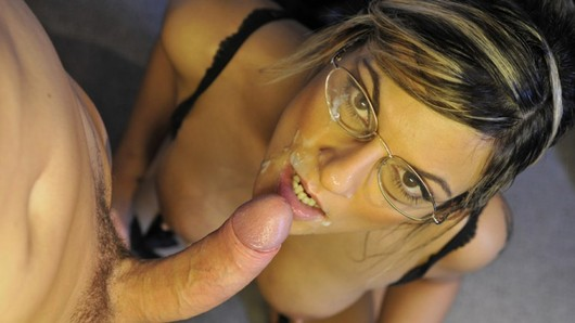 Fountains of cum and hardcore fucking for the hot principal of the Russian Institute Klarisa Leone and her lovely glasses. (Video duration: 9 minutes)