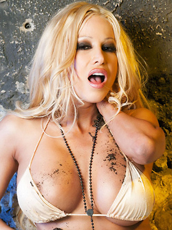 Gina Lynn doesn't mind getting dirty