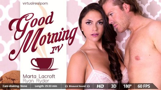 Alexandra Sivroskya in Good morning IV