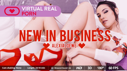Alexia Loewe in New in business