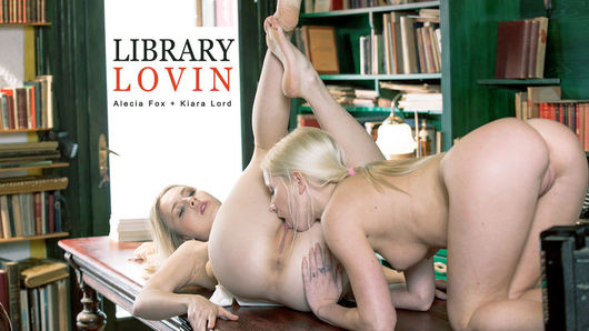 Alecia Fox in Library Lovin