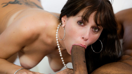 Horny and slutty Alana Cruise is begging for some delicious big black dick! Lucky for her, Ricky Johnson is there to give her what she wants. This stunning MILF will leave you speachless after showing off her skills sucking big black cocks!