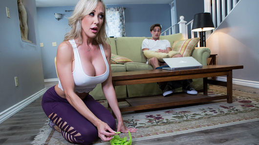 Brandi Love in Making A Mess On Stepmom