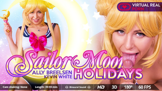 Ally Breelsen in Sailor moon holidays