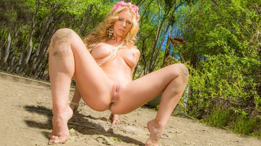Cherie Deville in Trees And Pearls