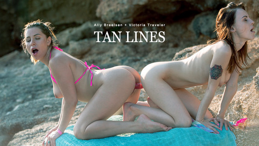 Ally Breelsen in GG-Tan Lines