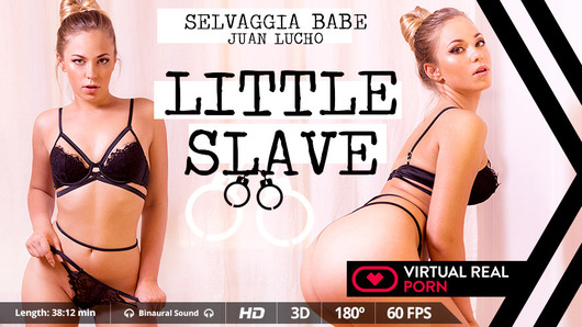 Best thing about many young girls is, as innocent as they may seem, they turn into sluts the more you know them. This is the case with Russian blonde Selvaggia Babe, a hottie with perfect ass, small tits and a sexy and very appetizing mouth. Enough talking, the best way for you to get to know her is in this porn scene in Virtual Reality where you can dominate her and do whatever you want as long as it's hard and rough, just the way she likes it.