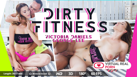 Victoria Daniels in Dirty fitness