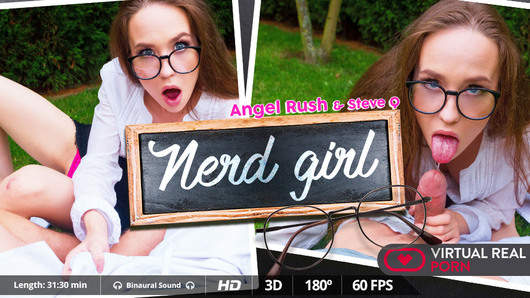 Angel Rush in Nerd girl
