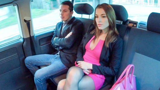 Victoria Daniels in Horny Czech beauty Victoria Daniels enjoys intense backseat sex with driver