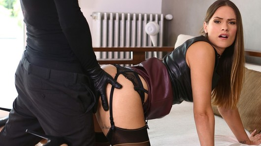 Claire Castel in Claire Castel, leather and pleasure