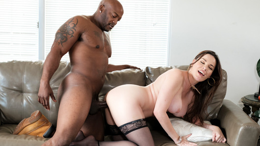 Dana DeArmond, just an ordinary housewife on the southside, has a dark secret. She likes spying on her neighbors, especially if they're fit, young black men. She craves the B.B.C. and welcomes a young man into the neighborhood the best way she knows how, by fucking is brains out.