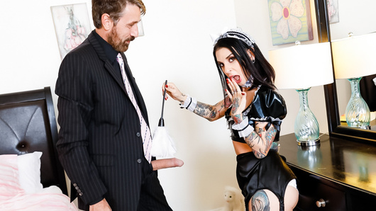 Joanna Angel in French Anal MILF Maids - Joanna Angel