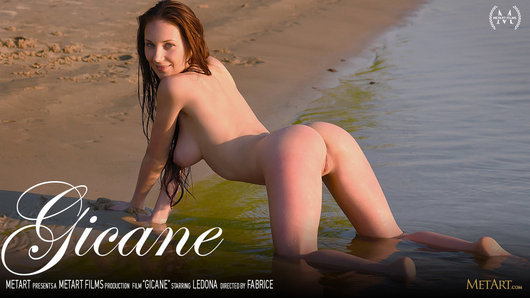Film Gicane starring Ledona directed by Fabrice