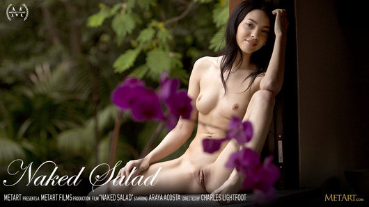 Araya Acosta in Naked Salad