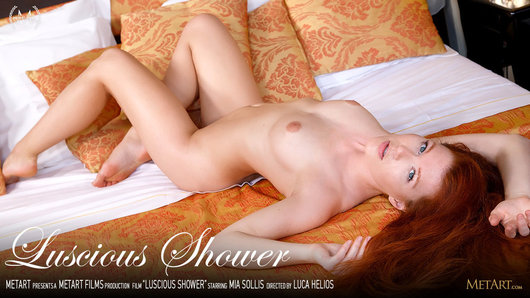 Mia Sollis in Luscious Shower