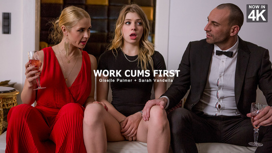 Giselle Palmer in Work Cums First