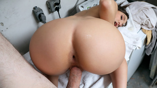 After being rescued from her volatile ex-boyfriend, Abella Danger decided to show her hot savior her thanks by dropping to her knees and slobbering all over his big dick! Abella loves seeing her tiny tits bounce around as she gets pussy pounded in public!