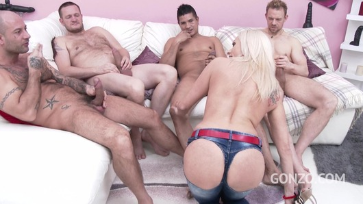 Brittany Bardot in Brittany Bardot takes no toys only big cocks (DP / DVP / DAP & double pussy creampie) SZ1926