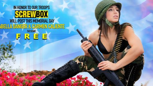 A Memorial Day Special starring Abella Danger and Carmen Caliente!