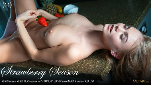 Nancy A in Strawberry Season