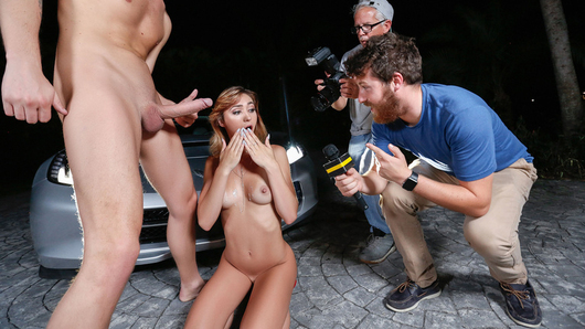 Ana Rose in Paparazzi Pussy