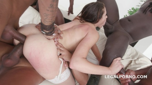 Waka Waka, Blacks are Coming! Avi Love gets 5 BBC with Balls Deep Anal / DAP / Gapes / Facial GIO674 (Video duration: 01:05:22)