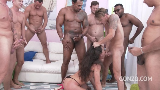 Nataly Gold Gangbang SZ1858 (Video duration: 00:42:15)