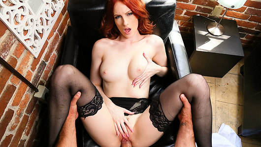Alex Harper in Your wife Alex Harper fulfills your naughty maid fantasy