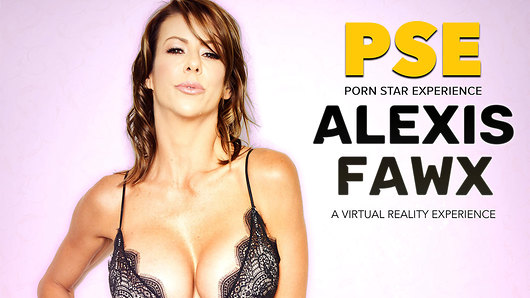 Alexis Fawx in Stone cold Alexis Fawx heats it up in her VR porn experience