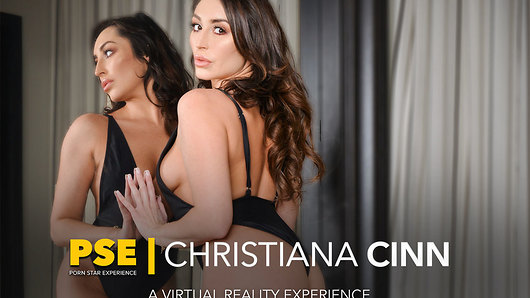 Christiana Cinn in Christiana Cinn fucking in the bed with her lingerie vr porn