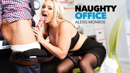 Alexis Monroe in Alexis Monroe has an office fling with co-worker