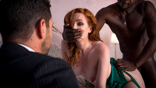 When Ella Hughes gets all dressed up, it isn't just for her husband: it's for the tall, dark, and handsome strangers they invite into their bedroom to fuck her while her hubby watches. Ella knows that other people wouldn't understand, but she loves everything about the thrill of cuckolding her man, seeing the look in his eyes as her pussy is stretched by a big black cock.