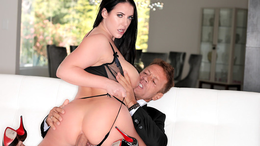 In a pair up only Evil Angel could accomplish a porn superstar and a XXX legend meet for the very first time. AVN Performer of the Year Angela White and Hall of Famer Rocco Siffredi engage in unscripted and intense off-camera anal sex as scene director John Stagliano and documentary filmmaker Evil Chris attempt - and sometimes fail comically - to focus them on shooting a scene.EPISODE 04: CIAO BELLA! opens with Angela approaching Evil Angel founder John Stagliano about her desire to shoot with the one and only Rocco Siffredi. During an international Skype call Rocco agrees to fly all the way from Budapest to Los Angeles to shoot with Angela. This is the first time Rocco has flown to America for just one scene. After 3 months of anticipation Rocco finally arrives and the two cannot keep their hands off each other. After a brief hello Rocco starts ruthlessly fucking Angela before the scene - completely ruining her makeup - while the crew begs them to stop. With no microphones on camera, the crew scrambles to capture footage while Stagliano resigns to recording the chaos on his phone. This is an unadulterated look at the unbridled drives of two sexual powerhouses.The crew eventually manages to wrangle the performers and start the photoshoot. But it's not long before the pair are fucking again and viewer never quite knows when Rocco and Angela's off-camera escapade ends and the actual sex scene begins. The sex is raw, rough and authentic. This is Angela like you've never seen her before. Pushed to her limits yet taking everything in her stride.