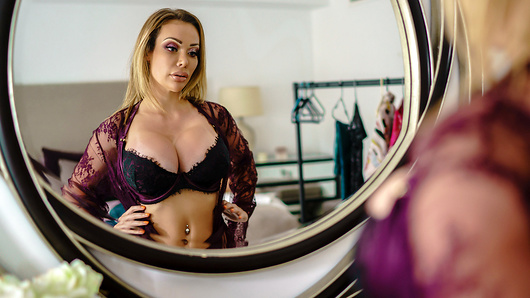 Chessie Kay in Dressing Room Poon
