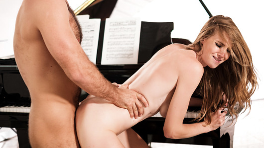 When it's time for another piano lesson, Ashley Lane decides she's had enough and just wants to get down and dirty with her teacher, Chad White, who's been ogling and swooning over her for months.