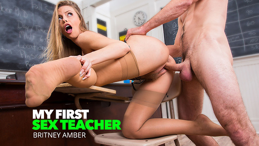 Britney Amber in Professor Amber Takes Her Students Big Cock