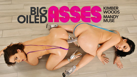 Kimber Woods in Mandy Muse And Kimber Woods Fuck You All Day