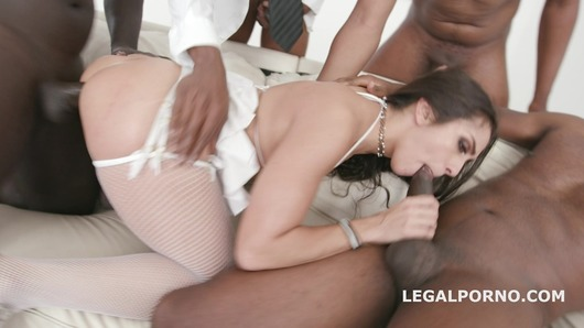 Waka Waka Blacks are Coming, Lilly Hall gets 5 BBC, balls deep anal, DP, DAP, Gapes, Creampie & Swallow GIO771 (Video duration: 00:47:55)